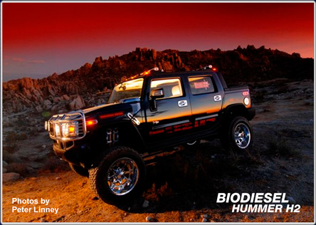 Biodiesel Hummer H2 | Photos by Peter Linney
